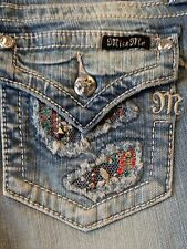 """Miss Me womens jeans JP8246B """"Sweet Lolita"""" Bootcut LT60"""