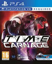 Time Carnage VR PSVR PS4 * NEW SEALED PAL *