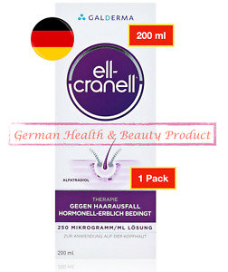 200ml Ell Cranell Alfatradiol Anti Hair Loss Hair Growth Root-damaging DHT New