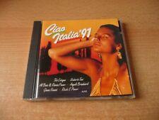 CD Ciao Italia `91: Toto Cutugno Riccie E Poveri Al Bano & Romina Power Umberto