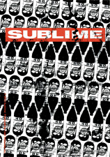 Sticker - Sublime Red Logo 40oz Pattern Ska Punk Rock Music Band 90s Decal #5627