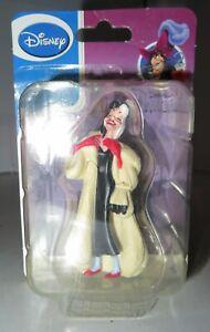 "DISNEY VILLANS Figurine CRUELLA de VILLE 3"" Tall PVC Figure NIP 101 Dalmations"