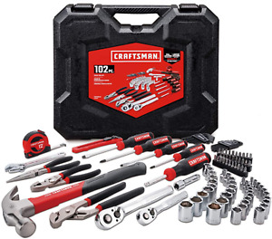 CRAFTSMAN Home/Mechanics Tool Kit/Set 102-Pc Pliers Hammer Wrench CMMT99448 NEW*