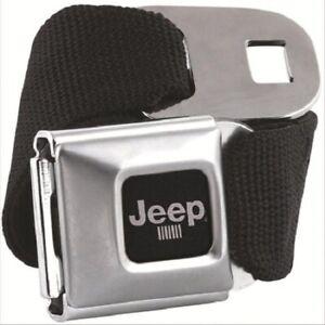 Genuine Black JEEP Seat Belt & Buckle Belt BuckleDown Seatbelt Wrangler Gift