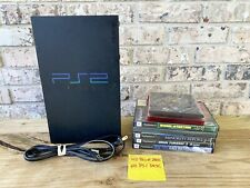 Sony PlayStation PS2 Fat Console W/ Power Cord & 8 Games   Tested   See Desc.