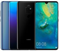 Huawei Mate 20 HMA-L29 128GB 6GB RAM (FACTORY UNLOCKED) 6.53 Blue Twilight Black