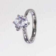 Moissanite Engagement Fine Gemstone Rings