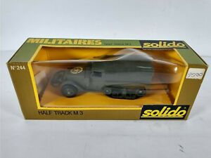 Solido Diecast Military US Army Half Track M3 WII No.244