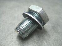 5 M12-1.50 Single Oversize Oil Drain Plugs With Gasket