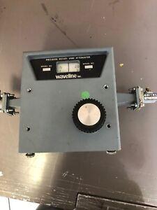 Waveline 7522-R Precision Rotary Vane Attenuator