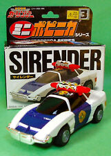 BANDAI MINI POPINICA 3 SIRENDER CAR RANGER CHOGOKIN POWER CAR RANGER TOMICA