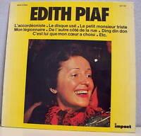 "33T Edith PIAF LP 12"" Disque D'OR L'ACCORDEONISTE -IMPACT Vol.1 6886102 F Reduit"
