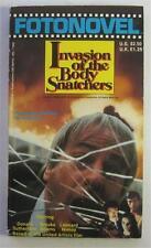 INVASION OF THE BODY SNATCHERS FOTONOVEL 1979 1ST ED PAPERBACK PB MOVIE