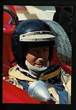 Car Auto Racing chrome postcard Formula 1 Grand Prix Jochen Rindt Vintage
