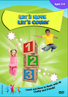 Counting DVD - 1s 2s 5s 10s - Numbers- Active Education Childrens Maths DVD -