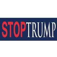 STOP TRUMP Bumper Sticker (Lot of 25) Anti-Trump Sticker For Anyone Anti Donald