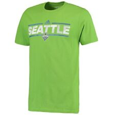 Men's Seattle Sounders FC adidas Rave Green City Nickname Go-To T-Shirt SIZE M