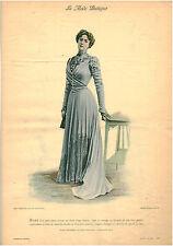 Publicité ancienne la mode pratique toilette d'été âge moyen -No 20  1899