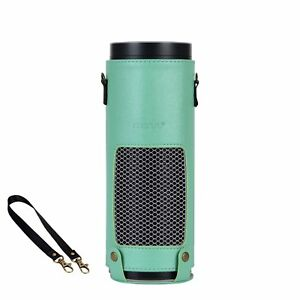 Mosiso Protective PU Leather Stand Cover Skin for Amazon Echo Portable Speaker