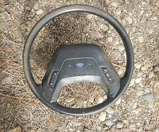 1987-91 Ford Pickup Truck Stock Leather Steering Wheel XLT Lariat F150 Bronco