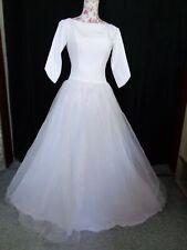 (32)Edles Damen Braut Standesamt Abend Kleid GR: 38
