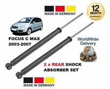 PER FORD FOCUS C MAX 2003-2007 2 x post. Suspenstion AMMORTIZZATORI Puntone