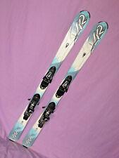 K2 SUPER RX jr kid's skis 139cm with Salomon L10 DEMO adjustable ski bindings ~~