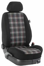 Renault Master bis 2010 Maß Sitzbezüge Vordersitze 2-Sitzer: GTI/rot/schwarz