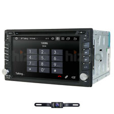 2Din Android 10.0 Car Stereo Radio GPS Nav Wifi CD DVD Player 4G DAB Mirror OBD2
