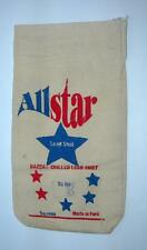 "VINTAGE ALLSTAR NAZCA NO. 8 SHOT BAG ""NEW"""