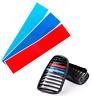 bmw - autocollant sticker adhésif - couleurs BMW grille calandre -