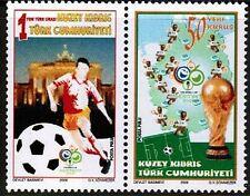 UNMOUNTED MINT 2006  - FIFA WORLD CUP  - TURKISH CYPRUS