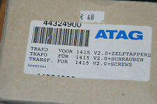 ATAG 44324900 TRAFO FÜR MCBA 1415 V2.0 SCHRAUBEN NEU