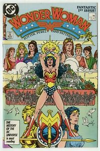 Wonder Woman #1 NM+ 9.6 white pages  New Origin  DC  1987  A  No Reserve