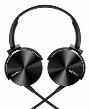 Sony MDR-XB450 On-Ear Extraa Bass Headphone (Black).+3 Months Seller Warranty