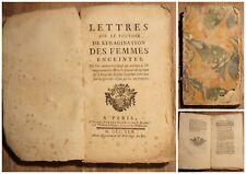 EO 1745 ✤ Lettres sur le Pouvoir de l'imagination des Femmes enceintes