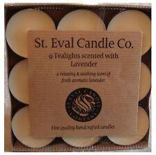 St Eval Candles & Tea Lights Lavender