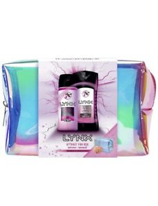 Lynx Attract For Her Washbag Christmas Gifts Set