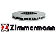 NEW Front Driver Side Disc Brake Rotor Zimmermann For: BMW F01 F02 740i 740Li