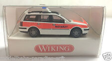 "WIKING 0710632 VW Golf IV Variant ""NOTARZT"" (JF 377)"