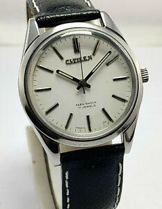 Vintage Citizen Hand-Winding 21Jewels  Date Movement Japan Made Men's Wristwatch