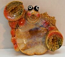 Humorous Ceramic Crab Spoon Holder