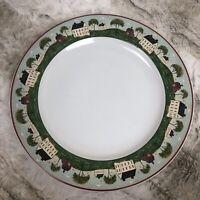 "Brandon House Country Life by Warren Kimble 12"" Platter Chop Plate 1998 Sakura"