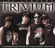TRIVIUM - The Lowdown - 2 CD Set + Booklet + Poster - NEU OVP
