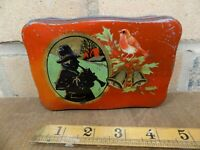 Mackintosh Christmas image Holly Toffee Tin c1930s