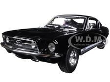 1967 FORD MUSTANG GTA FASTBACK BLACK 1:18 DIECAST MODEL CAR BY MAISTO 31166