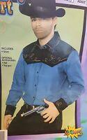 New Cowboy Western Shirt Men Costume Forum 57203