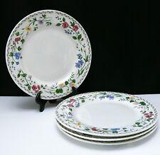 Farberware English Garden DINNER PLATES SET OF 4 Stoneware China Dishes