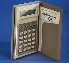 Texas Instruments Ti-1031 portable electronic calculator
