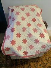 Vintage 50 x 40 Blanket Handmade Quilt For Child